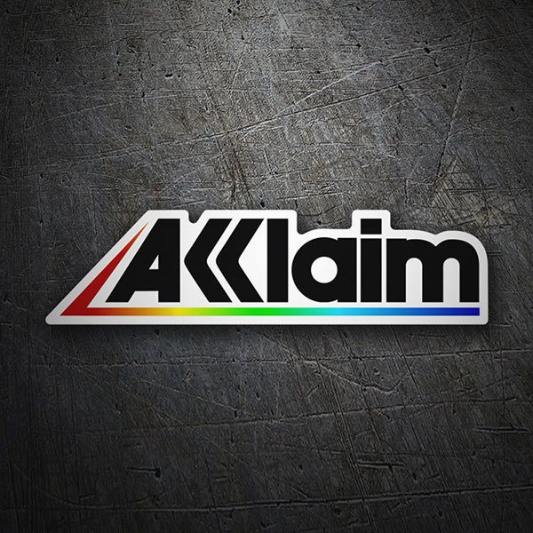 Car & Motorbike Stickers: Acclaim Logo