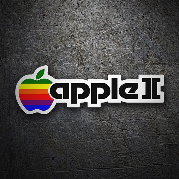 Car & Motorbike Stickers: Apple II