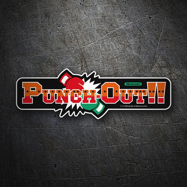 Car & Motorbike Stickers: Punch-Out!!