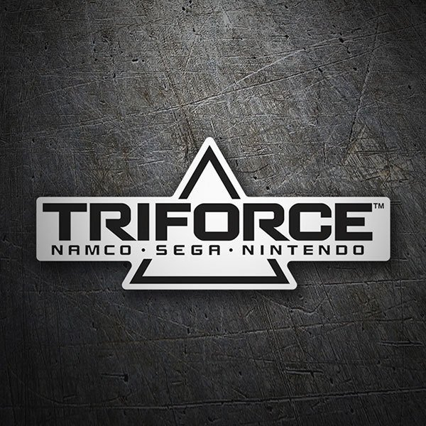 Car & Motorbike Stickers: Triforce System
