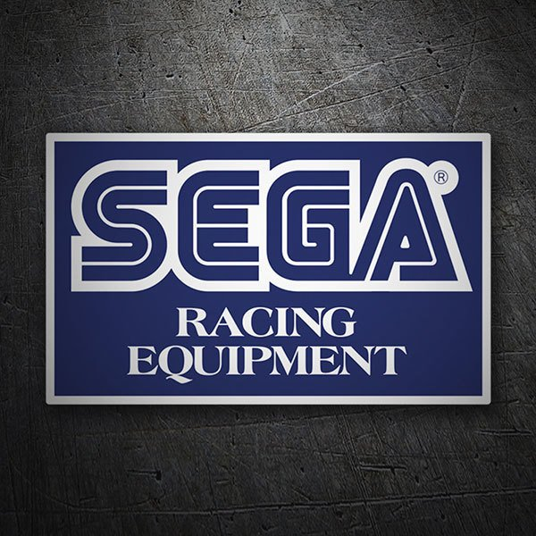 Car & Motorbike Stickers: Sega Racing Equipment