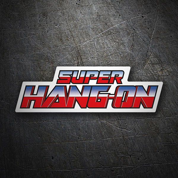Car & Motorbike Stickers: Super Hang-On