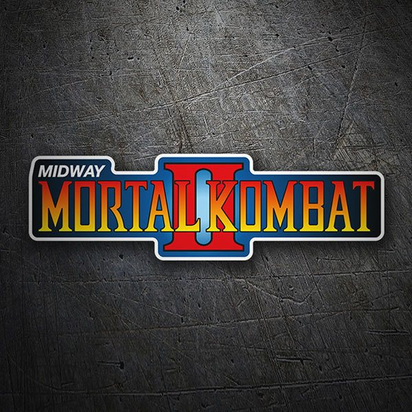 Car & Motorbike Stickers: Mortal Kombat II