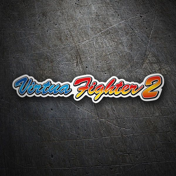 Car & Motorbike Stickers: Virtua Fighter 2