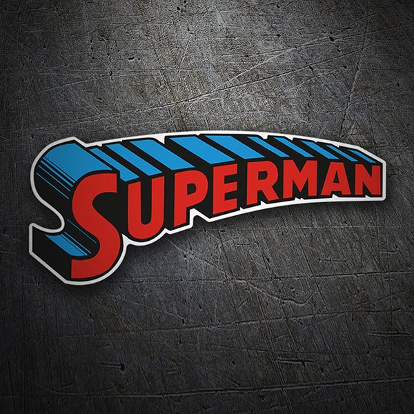 Car & Motorbike Stickers: Superman Arcade