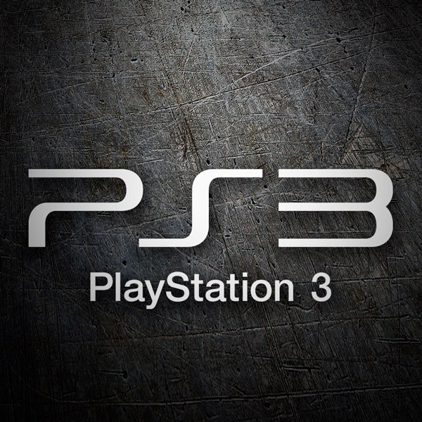 Car & Motorbike Stickers: Play Station 3 Logo