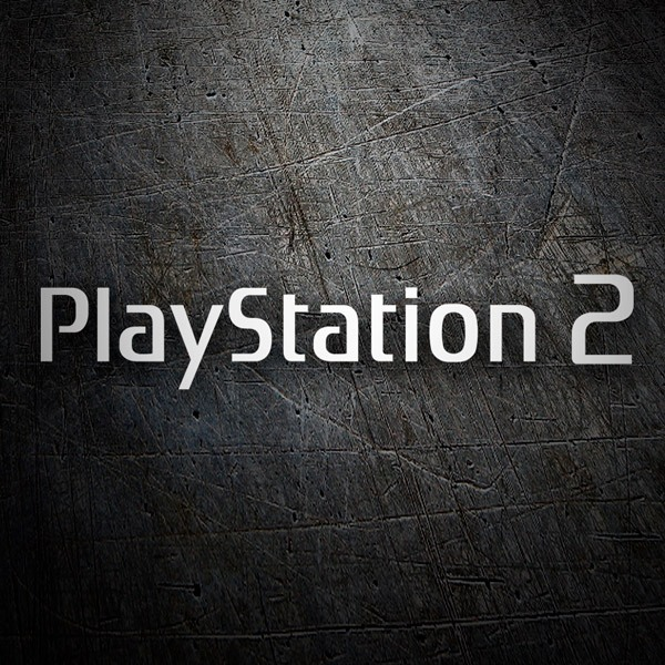 Car & Motorbike Stickers: Play Station 2