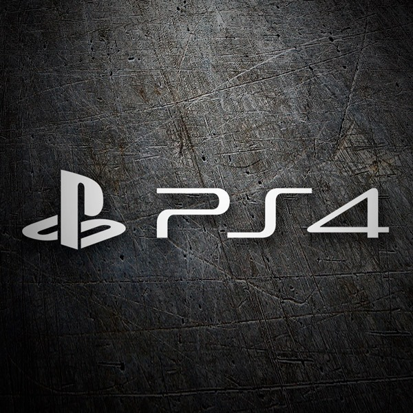Car & Motorbike Stickers: Play Station 4