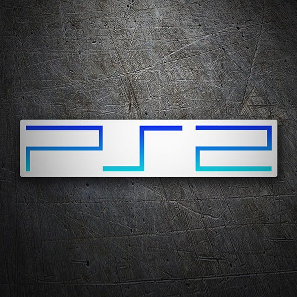 Car & Motorbike Stickers: PS2 - Play Station 2