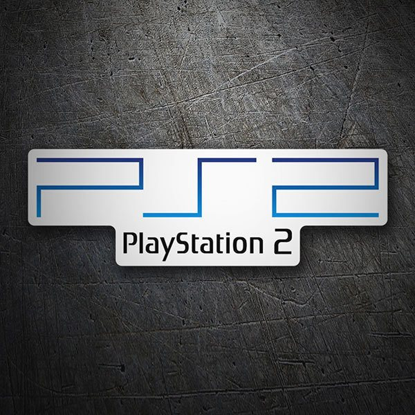 Car & Motorbike Stickers: Play Station 2 Logo