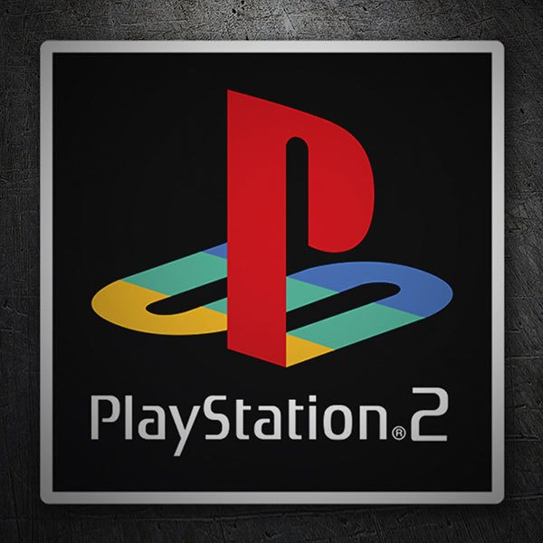 Car & Motorbike Stickers: Play Station 2 Seal