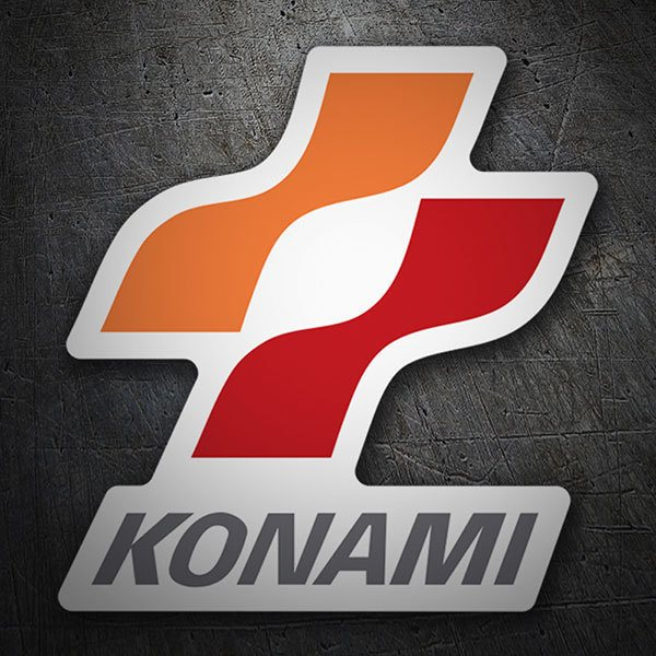 Car & Motorbike Stickers: Konami 1998