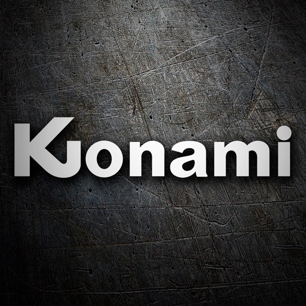Car & Motorbike Stickers: Konami 1981