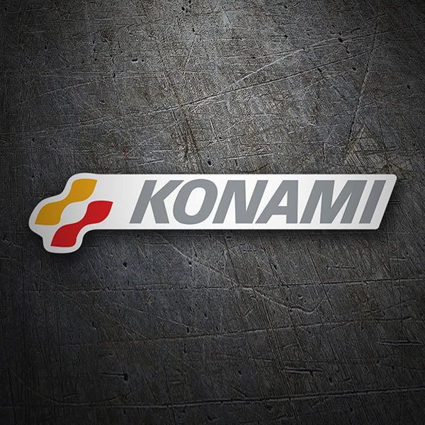 Car & Motorbike Stickers: Konami 1986