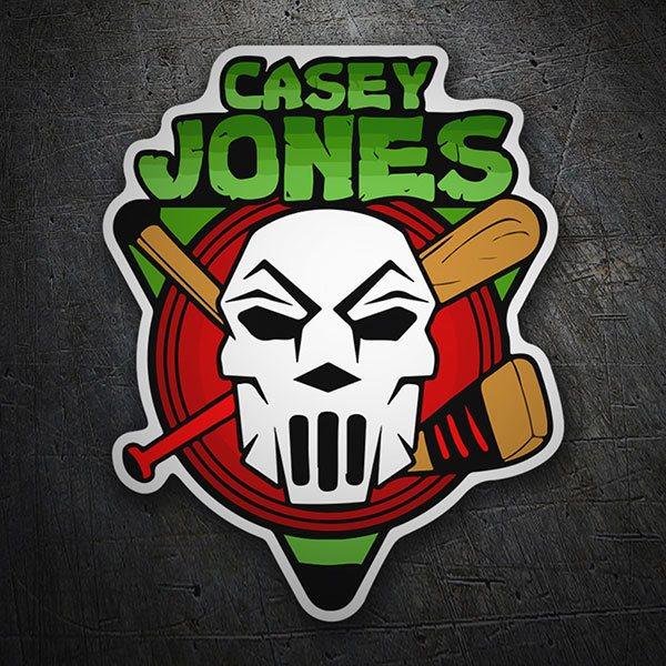 Sticker Casey Jones | MuralDecal com