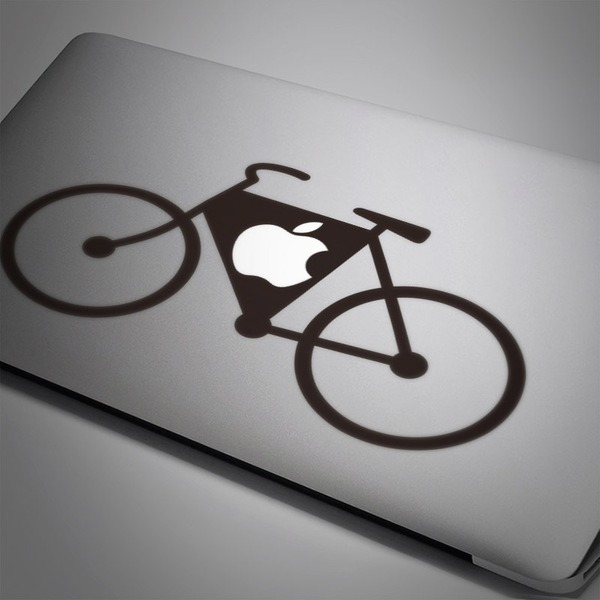 Car and Motorbike Stickers: Bicycle