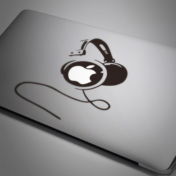 Car & Motorbike Stickers: Headphones