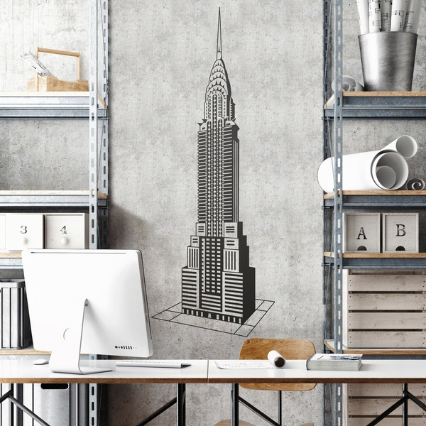 Wall Stickers: Chrysler Building