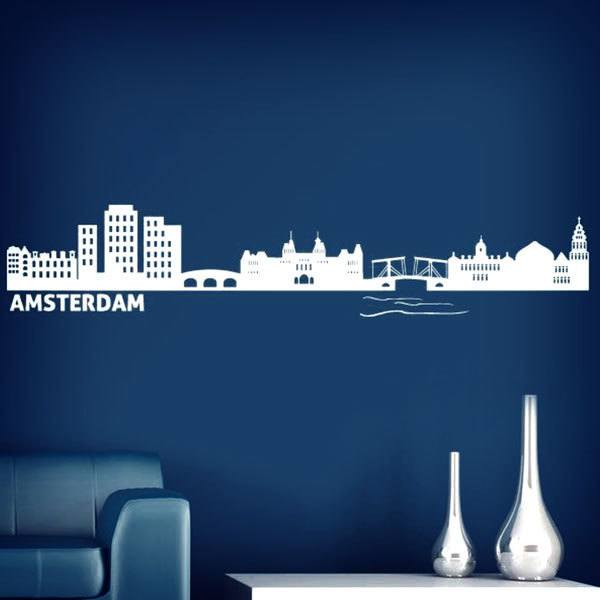 Wall Stickers: Skyline Amsterdam