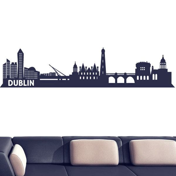 Wall Stickers: Dublin Skyline