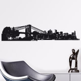 Wall Stickers: New York Skyline 2