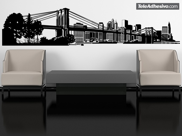 Wall Stickers: New York Skyline