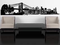 Wall Stickers: New York Skyline 3