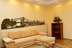 Wall Stickers: New York Skyline 4