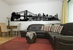 Wall Stickers: New York Skyline 5