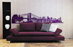 Wall Stickers: New York Skyline 6