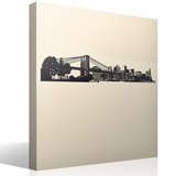 Wall Stickers: New York Skyline 7