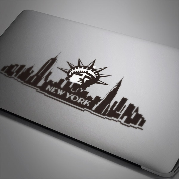 Car and Motorbike Stickers: New York City