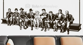 Wall Stickers: Hollywood on the beam 2