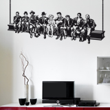 Wall Stickers: Hollywood on the beam 6
