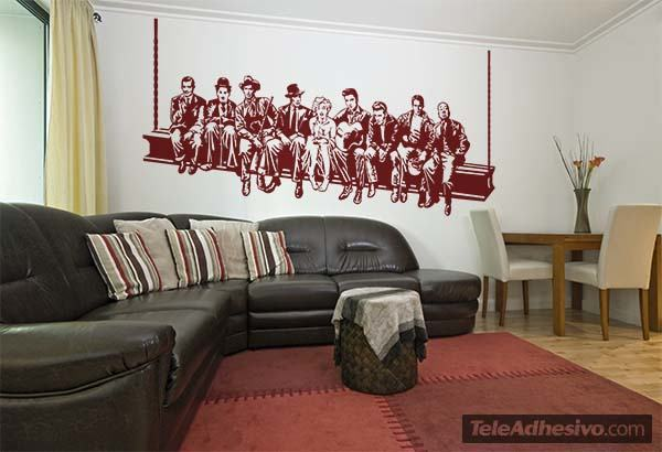 Wall Stickers: Hollywood on the beam