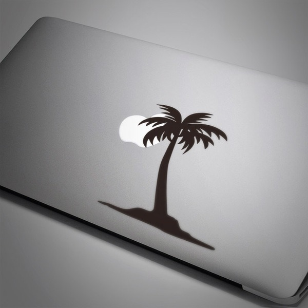 Car & Motorbike Stickers: Palm