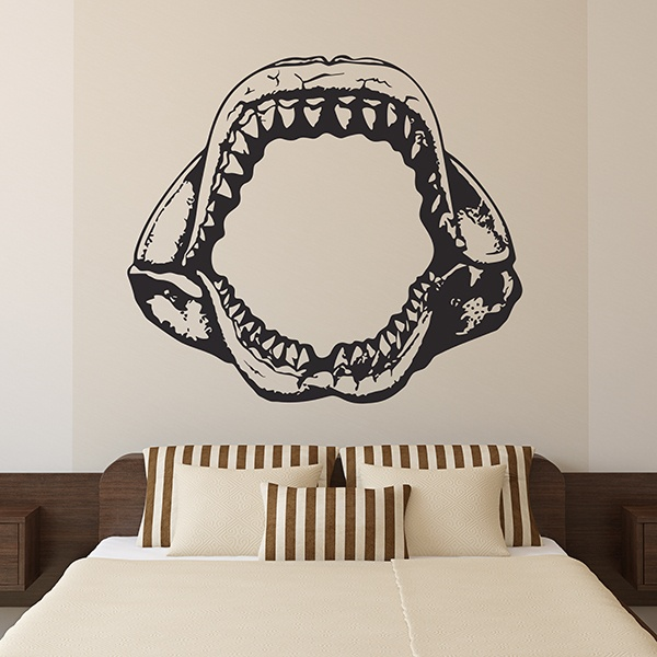 Wall Stickers: Shark Jaws