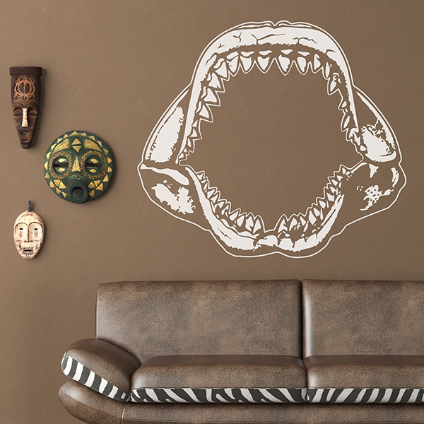 Wall Stickers: Shark Jaws 2