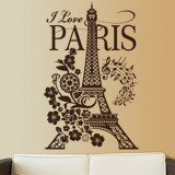Wall Stickers: I Love Paris 2