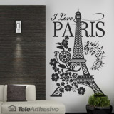 Wall Stickers: I Love Paris 3