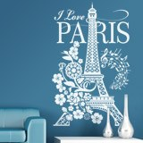 Wall Stickers: I Love Paris 5