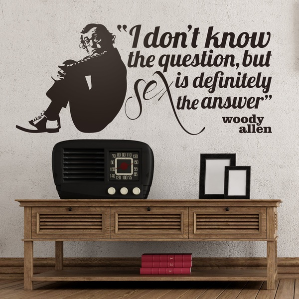 Wall Stickers: Sex is the Answer