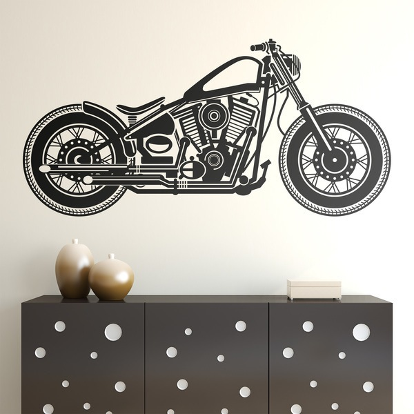 Wall Stickers: Harley Motorcycle