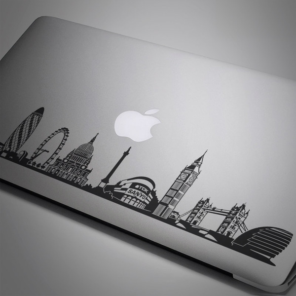 Car & Motorbike Stickers: London Skyline