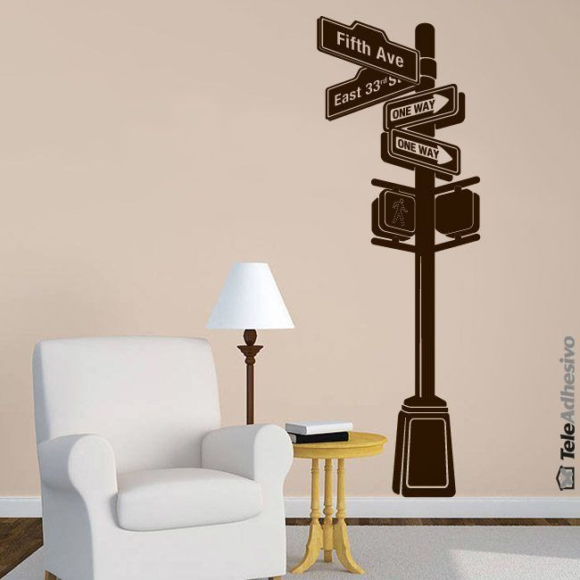 Wall Stickers: New York Signal