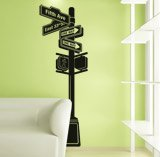 Wall Stickers: New York Signal 3