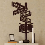 Wall Stickers: New York Signal 4
