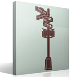 Wall Stickers: New York Signal 6