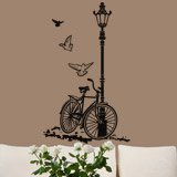 Wall Stickers: Bicycle and Lamp 2