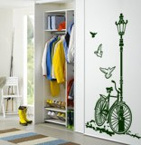 Wall Stickers: Bicycle and Lamp 3